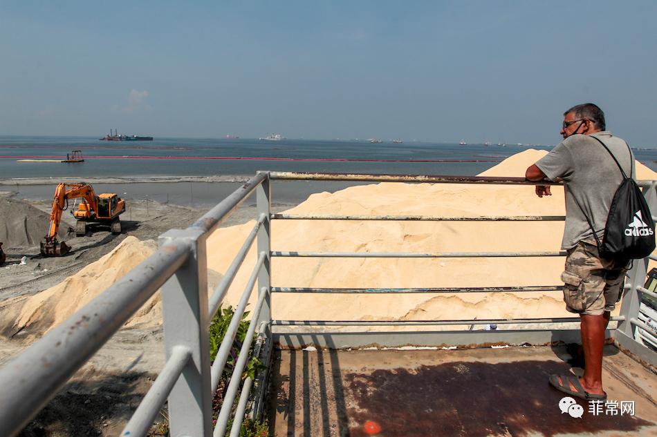 马尼拉市长认为马尼拉湾的白沙修复将带来可观的旅游经济
